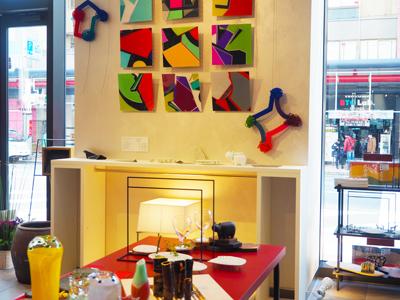 暮らしの道具とアートのお店「VIVIDEEP maison」